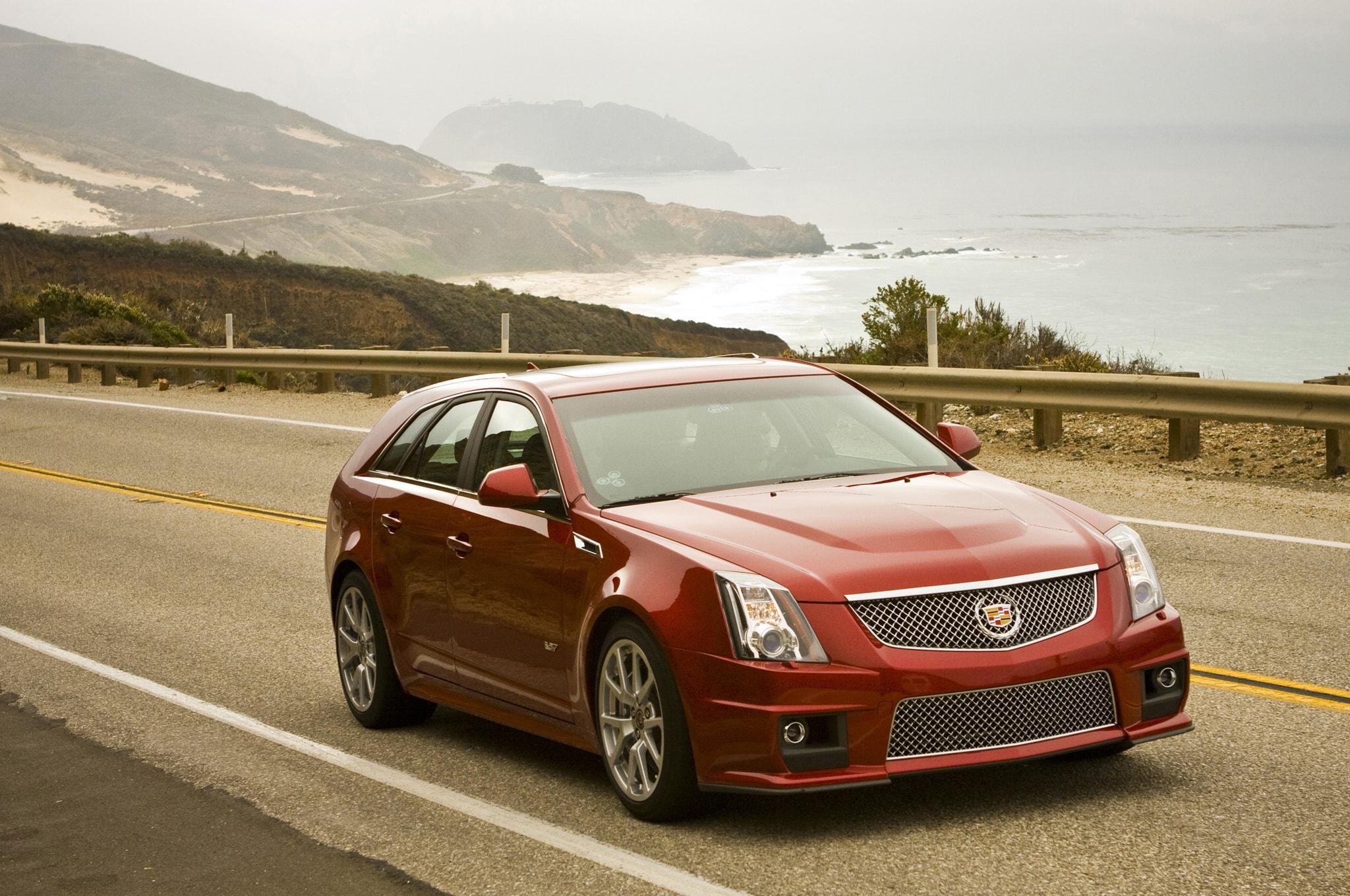 Cadillac CTS-V Wagon Widescreen
