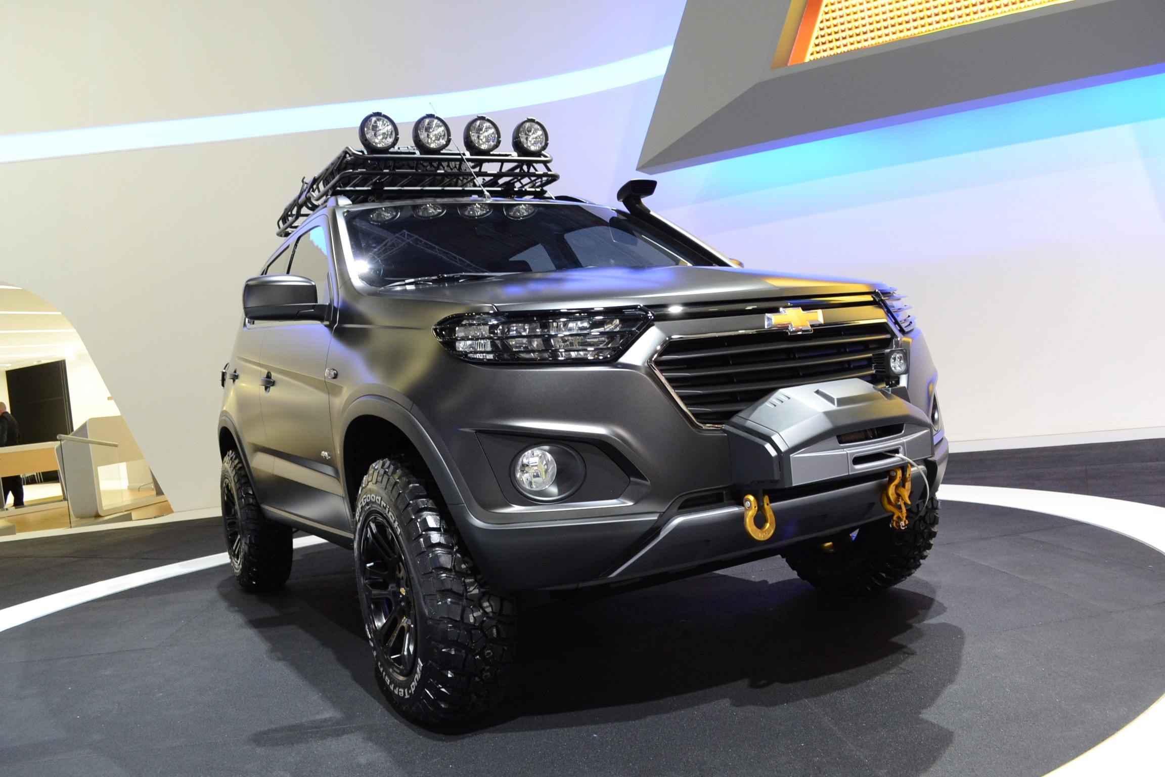 Chevrolet Niva 2 Widescreen