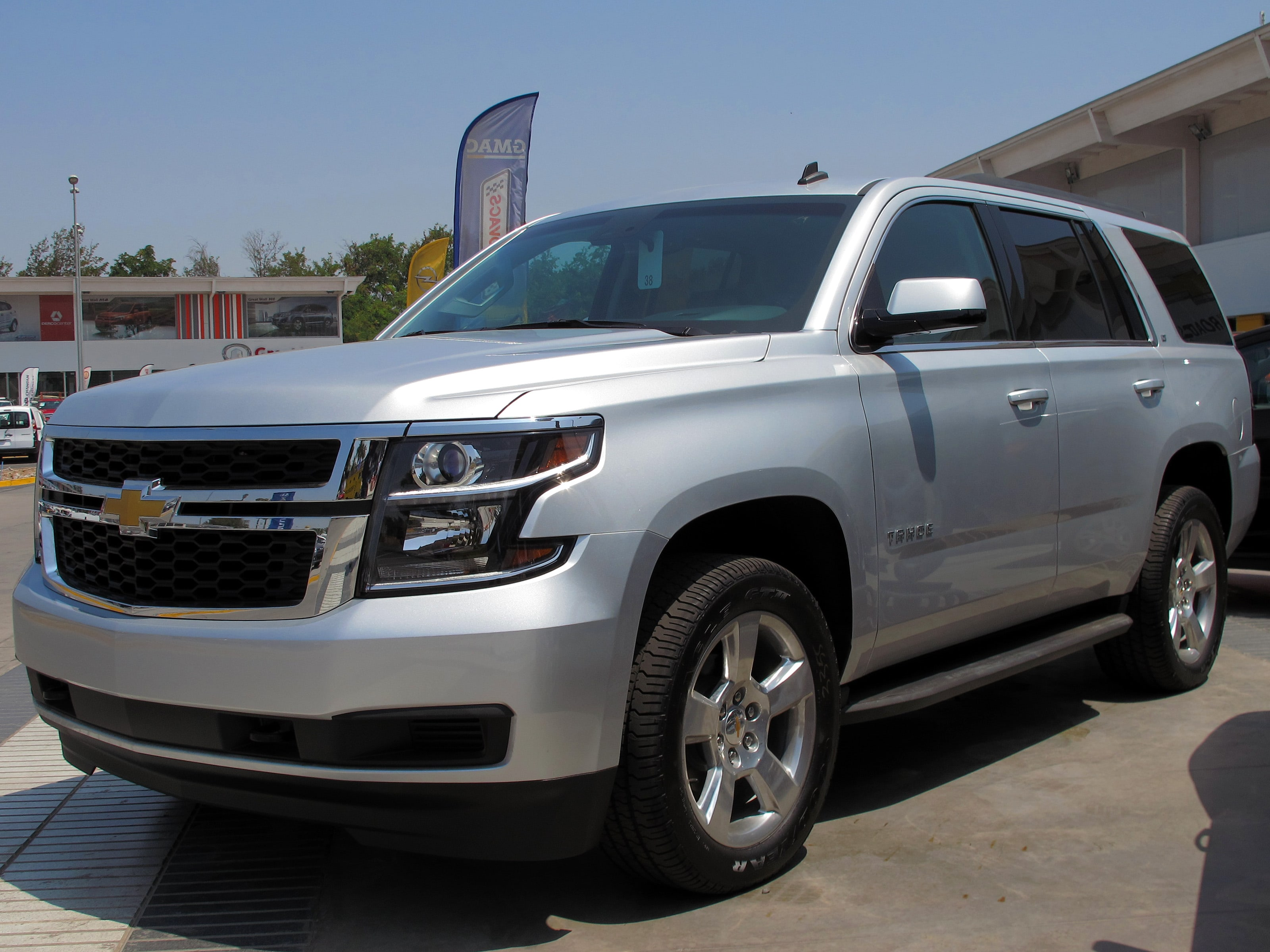 Chevrolet Tahoe 4 Widescreen