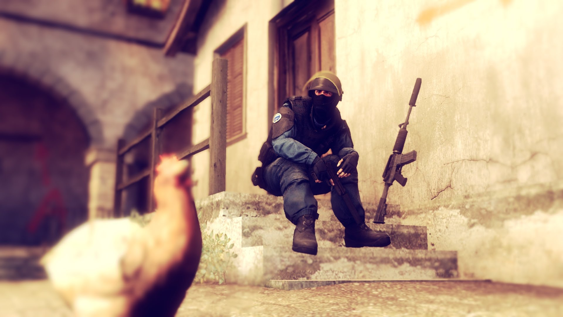 Counter-Strike: Global Offensive widescreen