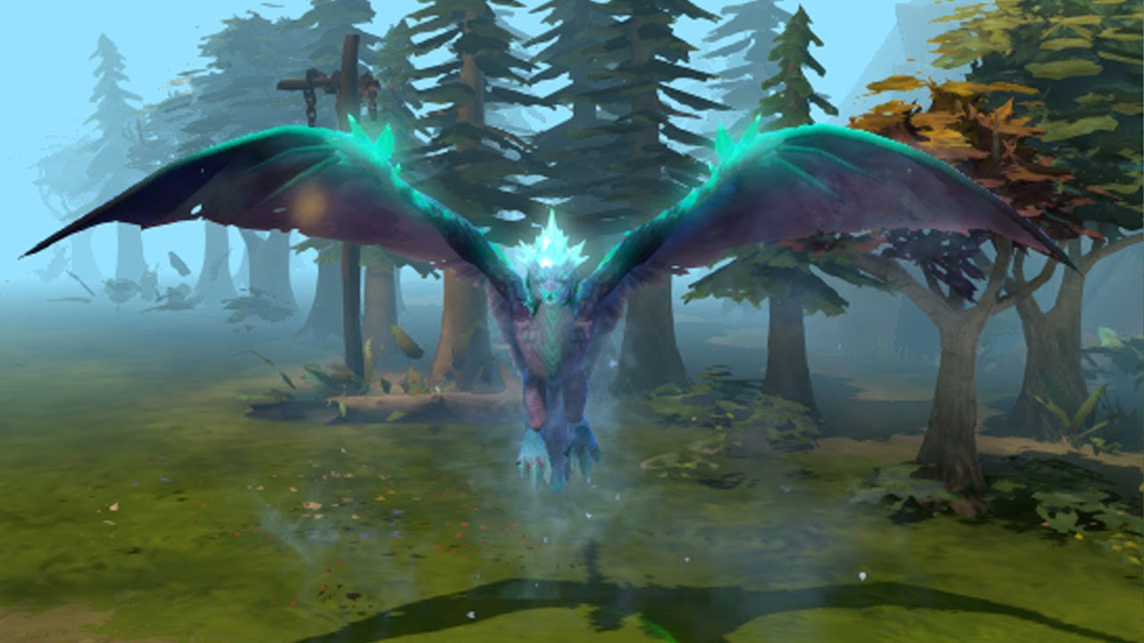 Dota 2 : Winter Wyvern Widescreen