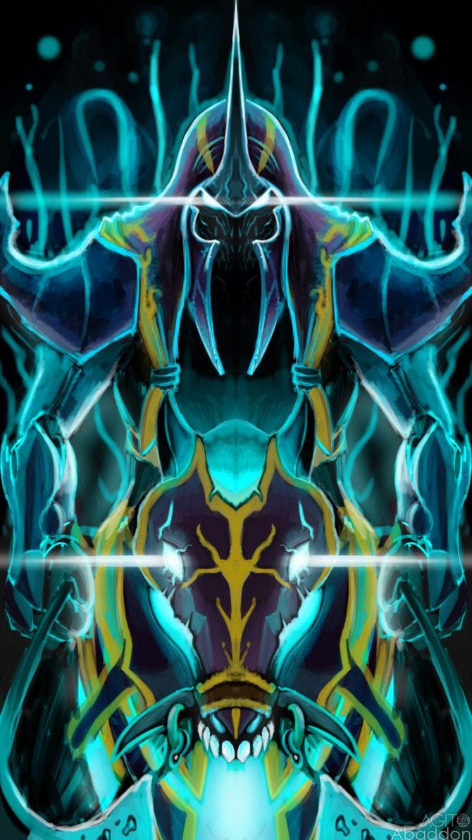Dota2 : Abaddon iPhone wallpapers