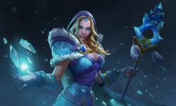 Dota2 : Crystal Maiden widescreen