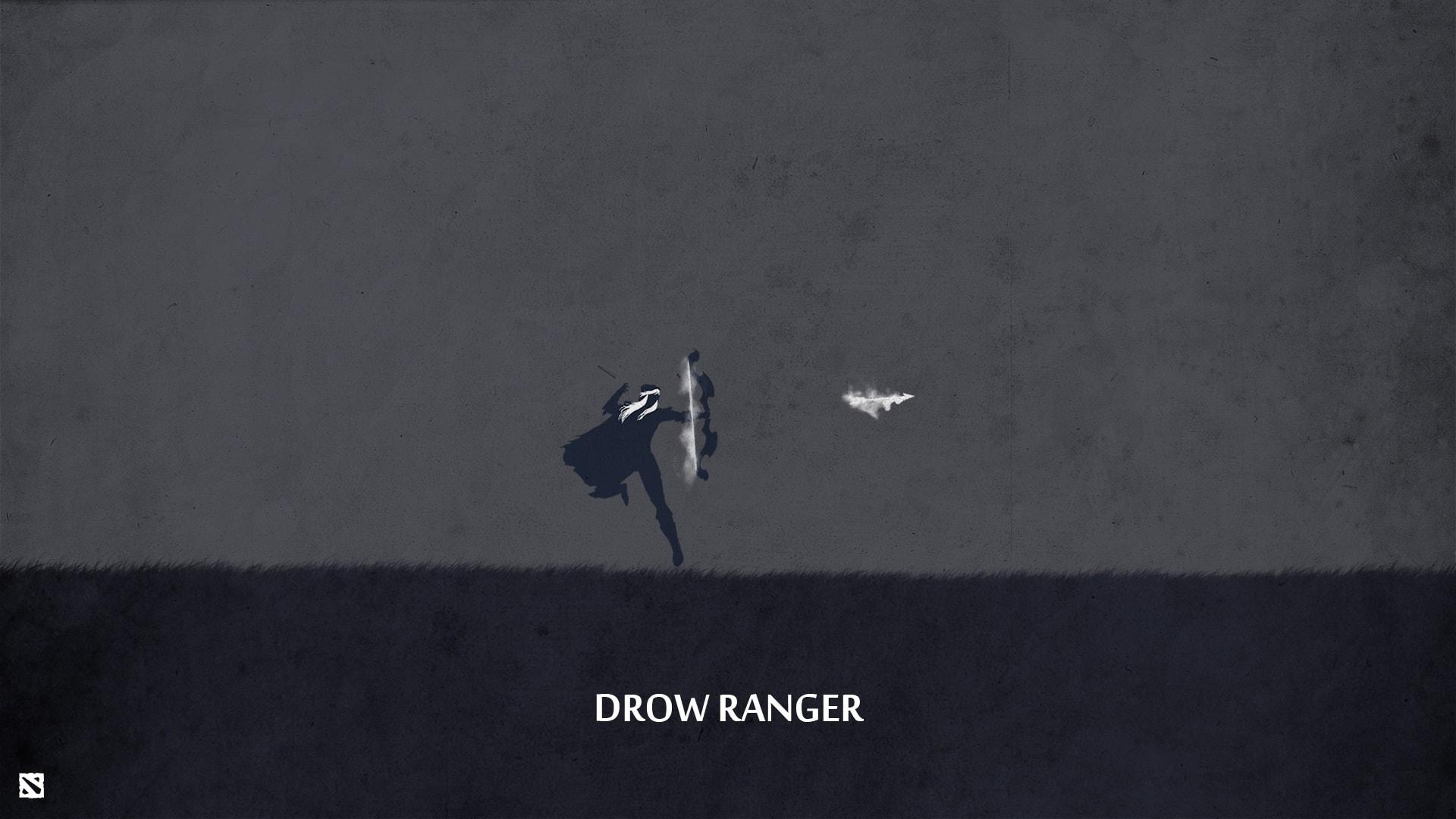 Dota2 : Drow Ranger widescreen