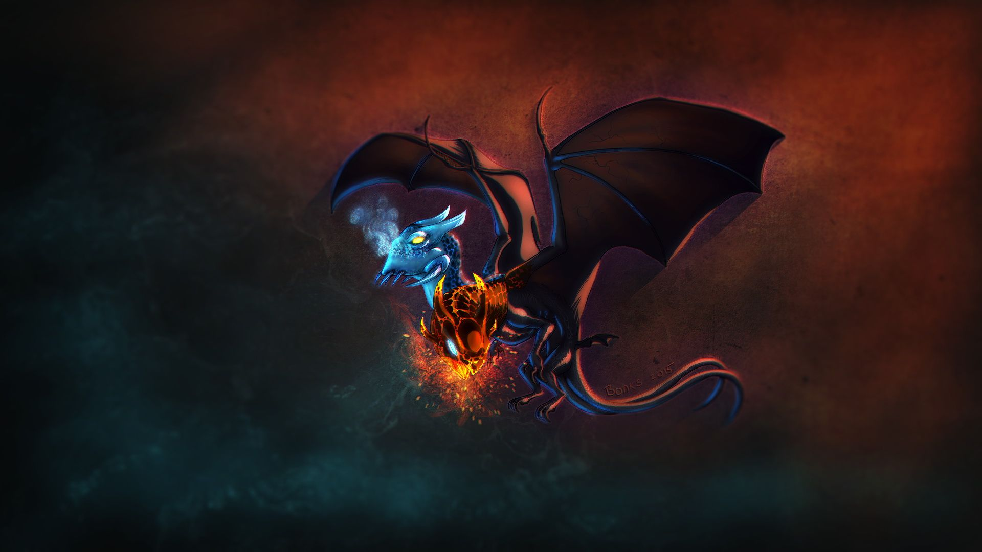 Dota2 : Jakiro Desktop wallpapers