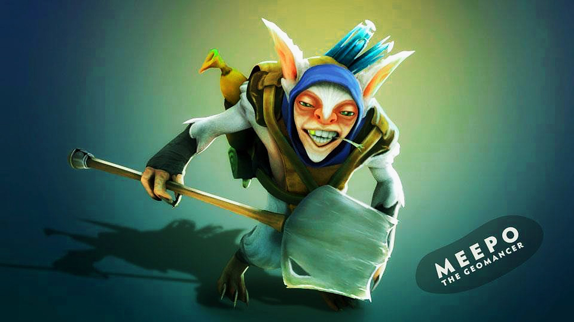 Dota2 : Meepo Desktop wallpapers