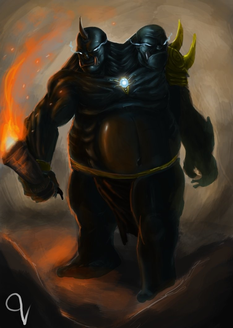 Dota2 : Ogre Magi iPhone wallpapers