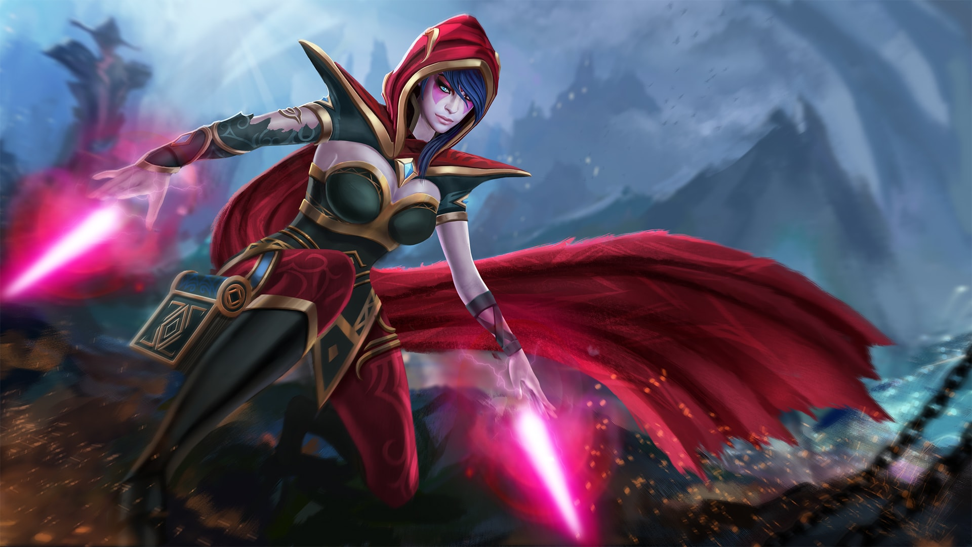 Dota2 : Templar Assassin widescreen