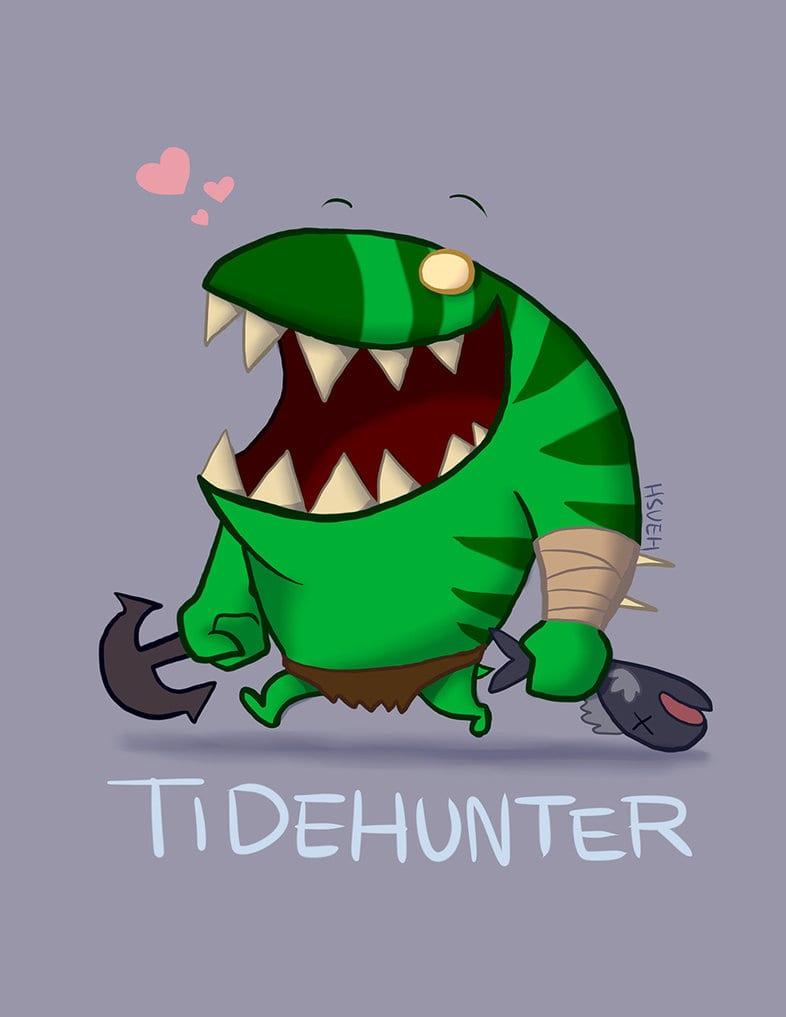 Dota2 : Tidehunter for mobile