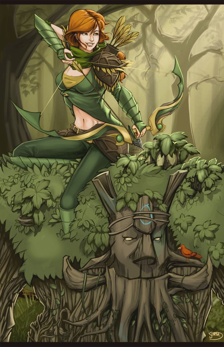 Dota2 : Treant Protector for mobile