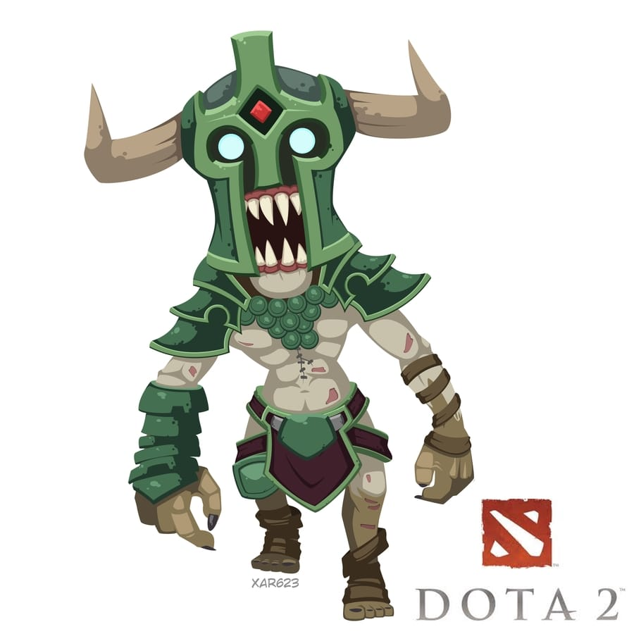 Dota2 : Undying widescreen