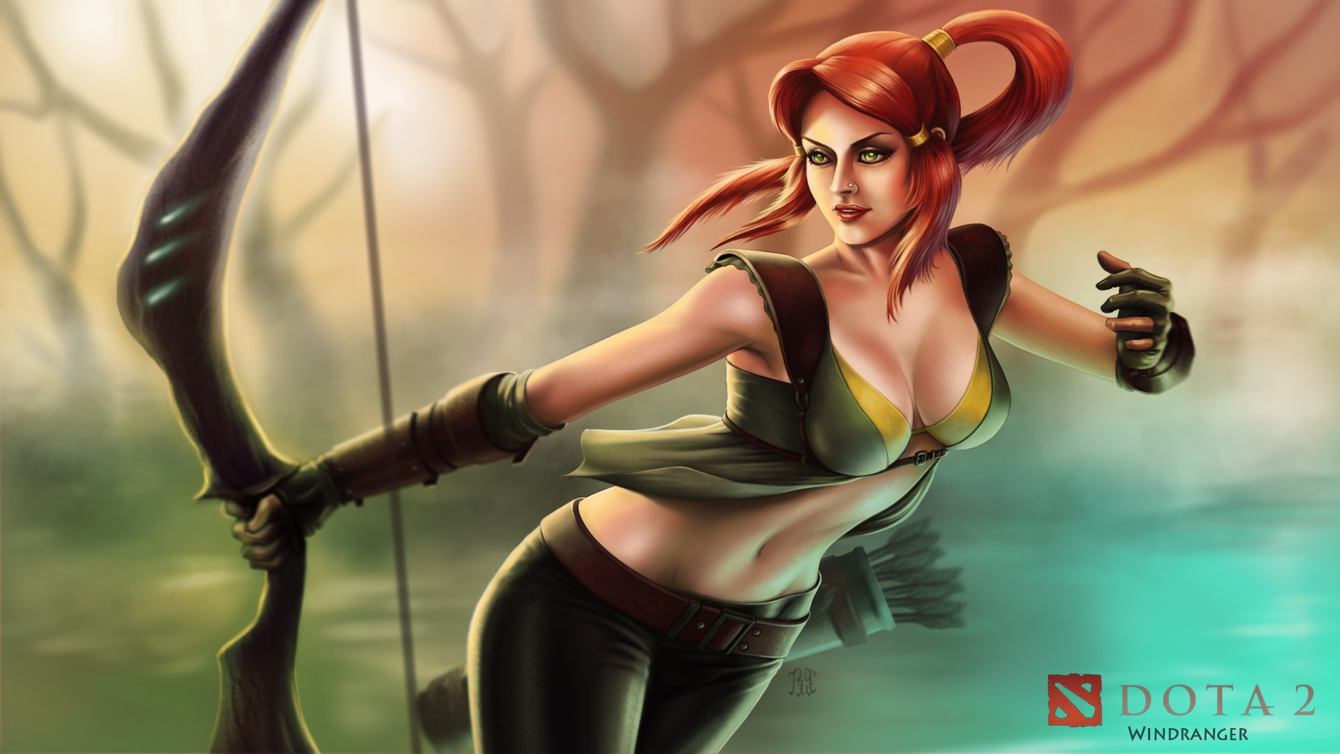 Dota2 : Windranger widescreen