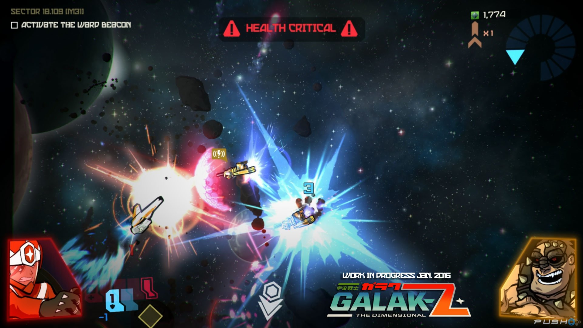 Galak-Z: The Dimensional Widescreen
