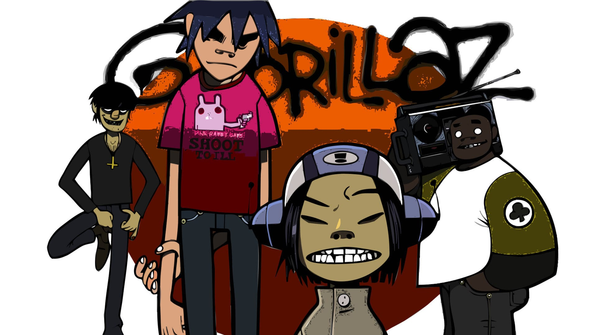 Gorillaz Widescreen