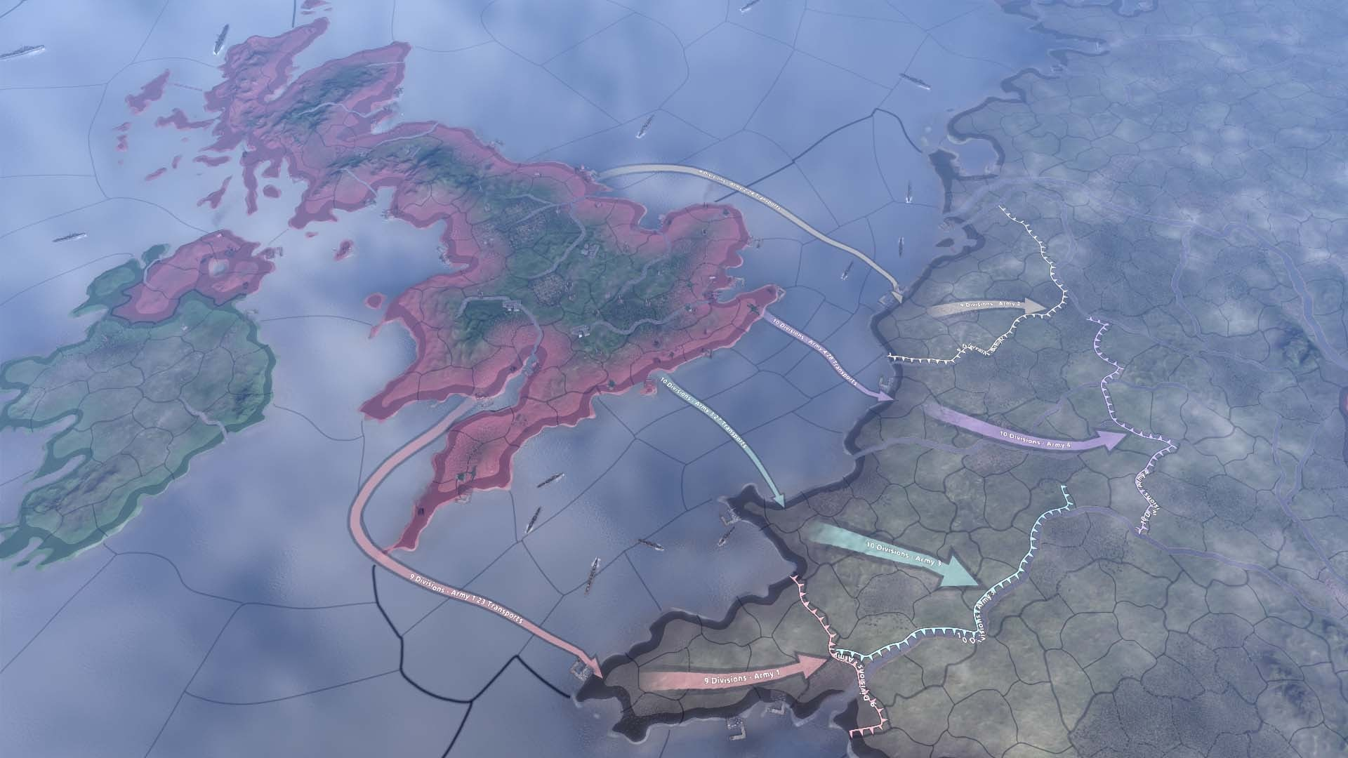 Hearts of Iron 4 Widescreen