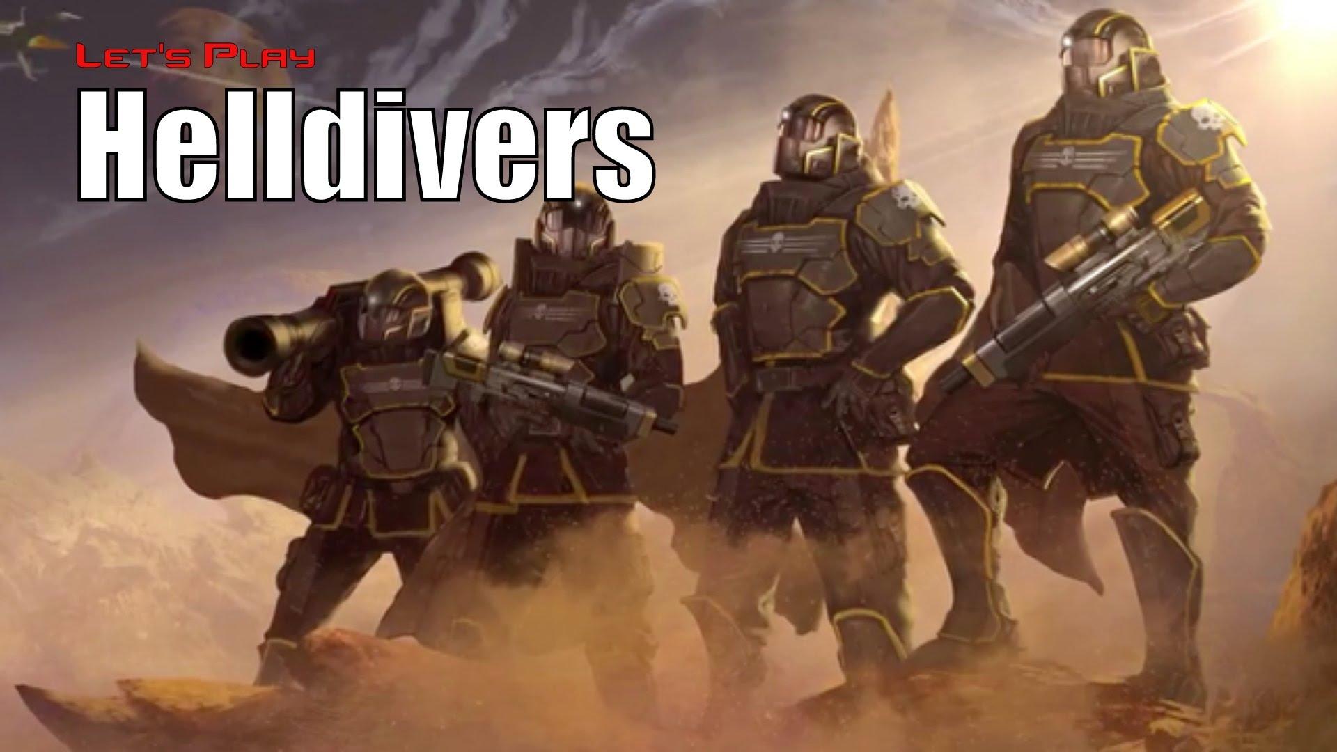 Helldivers Widescreen
