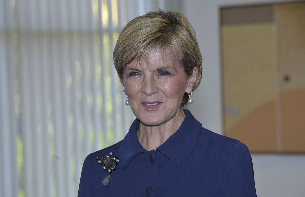 Julie Bishop Widescreen