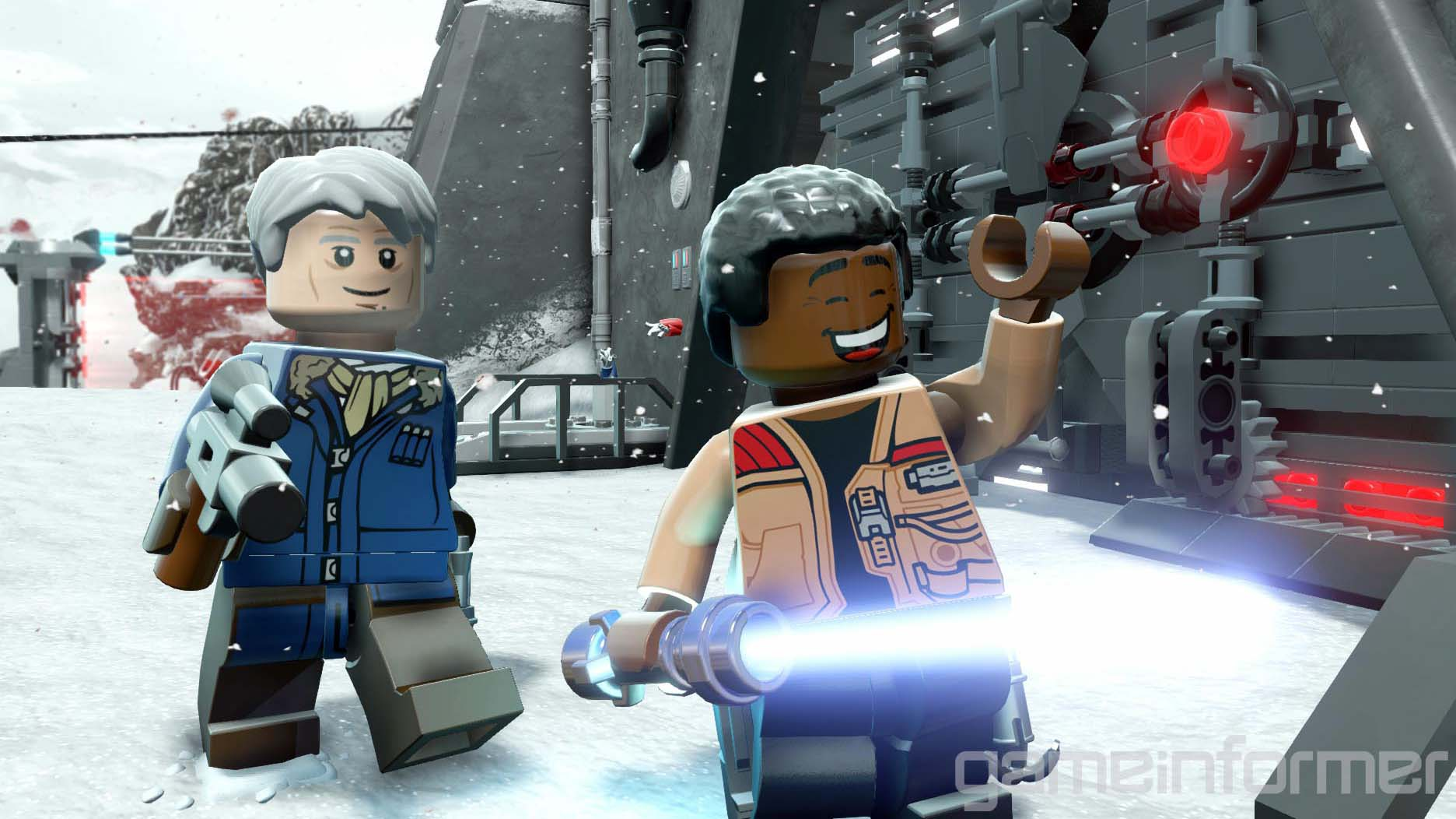 LEGO Star Wars: The Force Awakens Widescreen