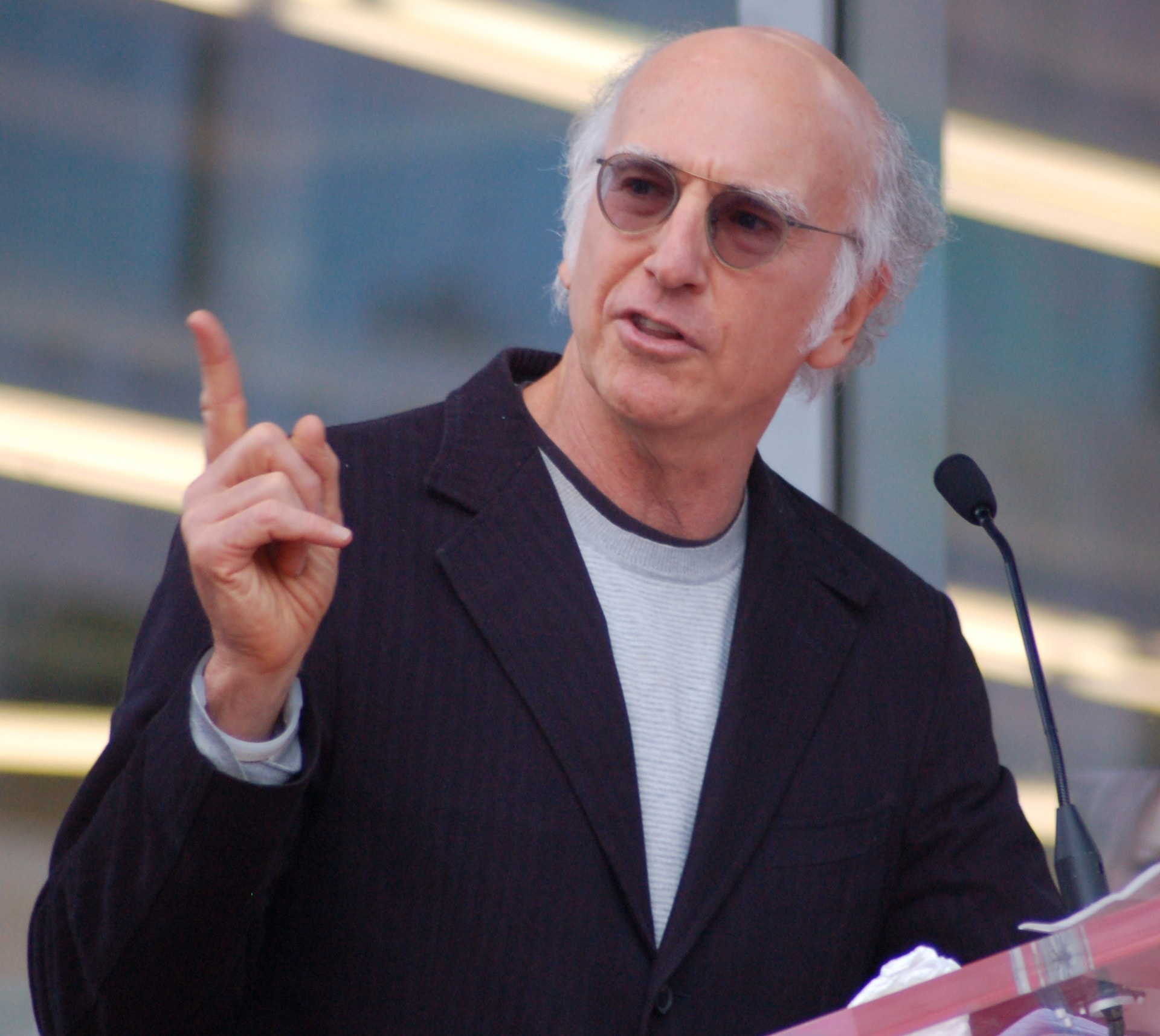 Larry David Widescreen