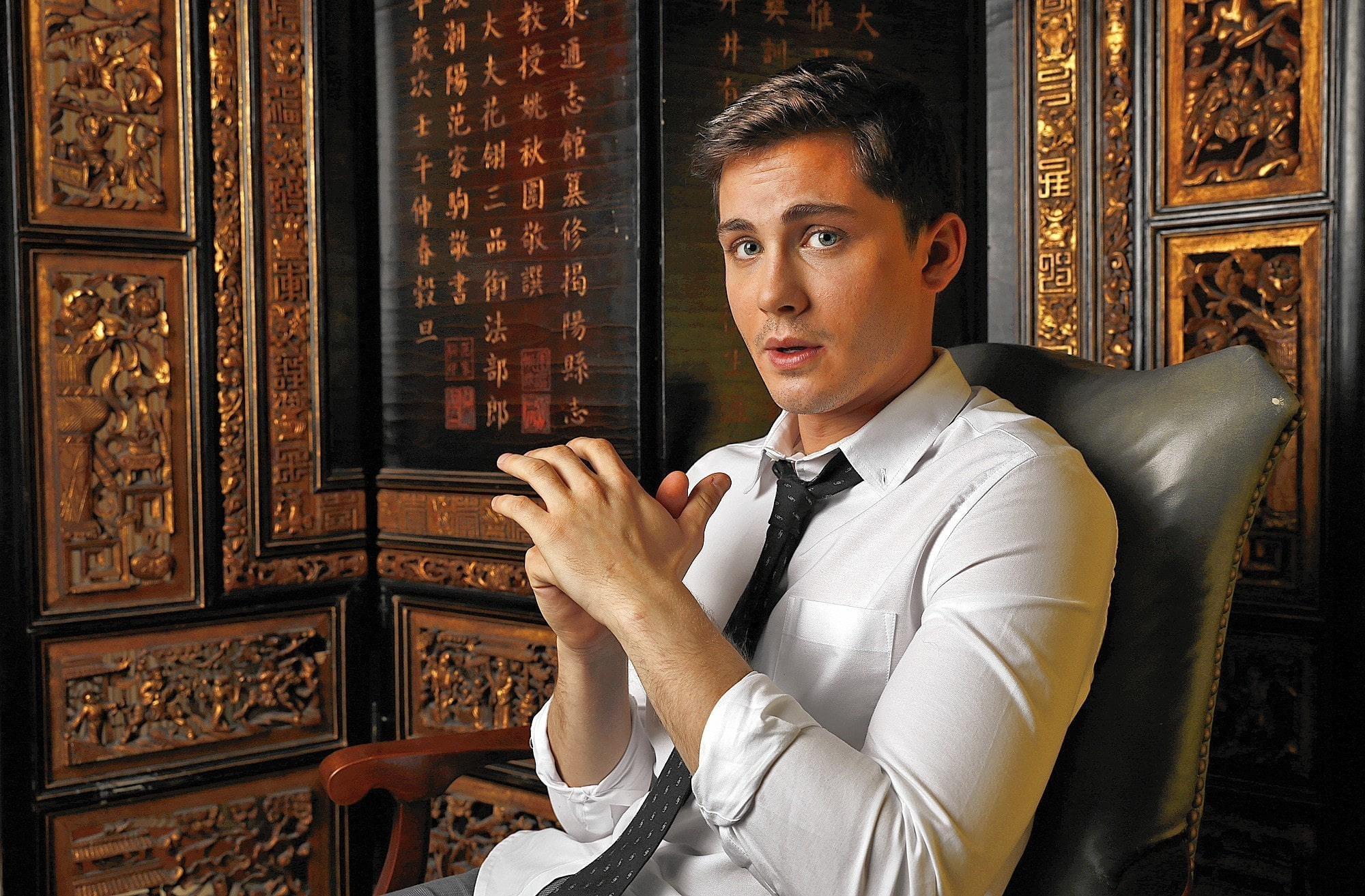 Logan Lerman Widescreen
