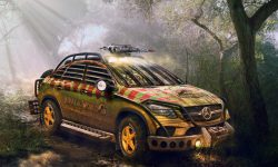 Mercedes-Benz GLE coupe backgrounds