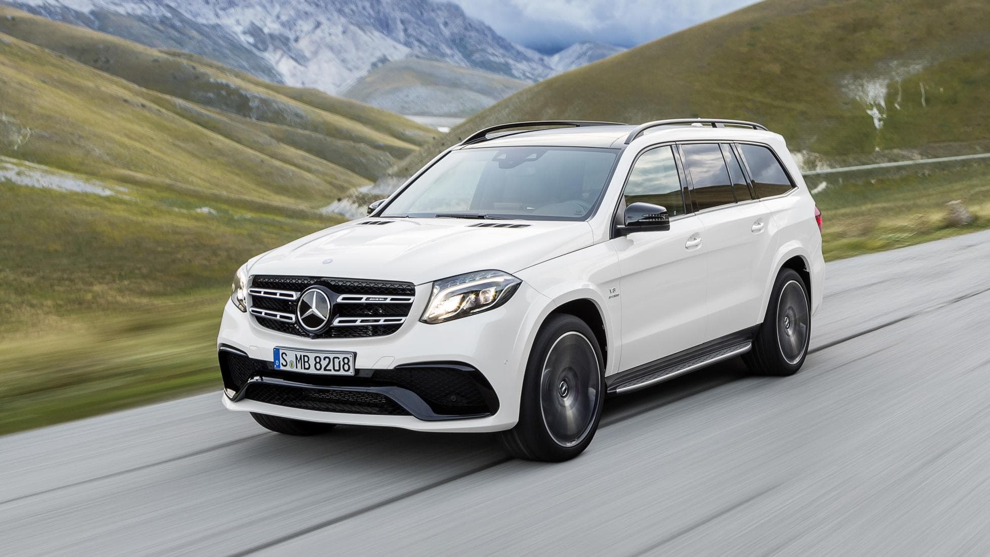 Mercedes GLS Widescreen