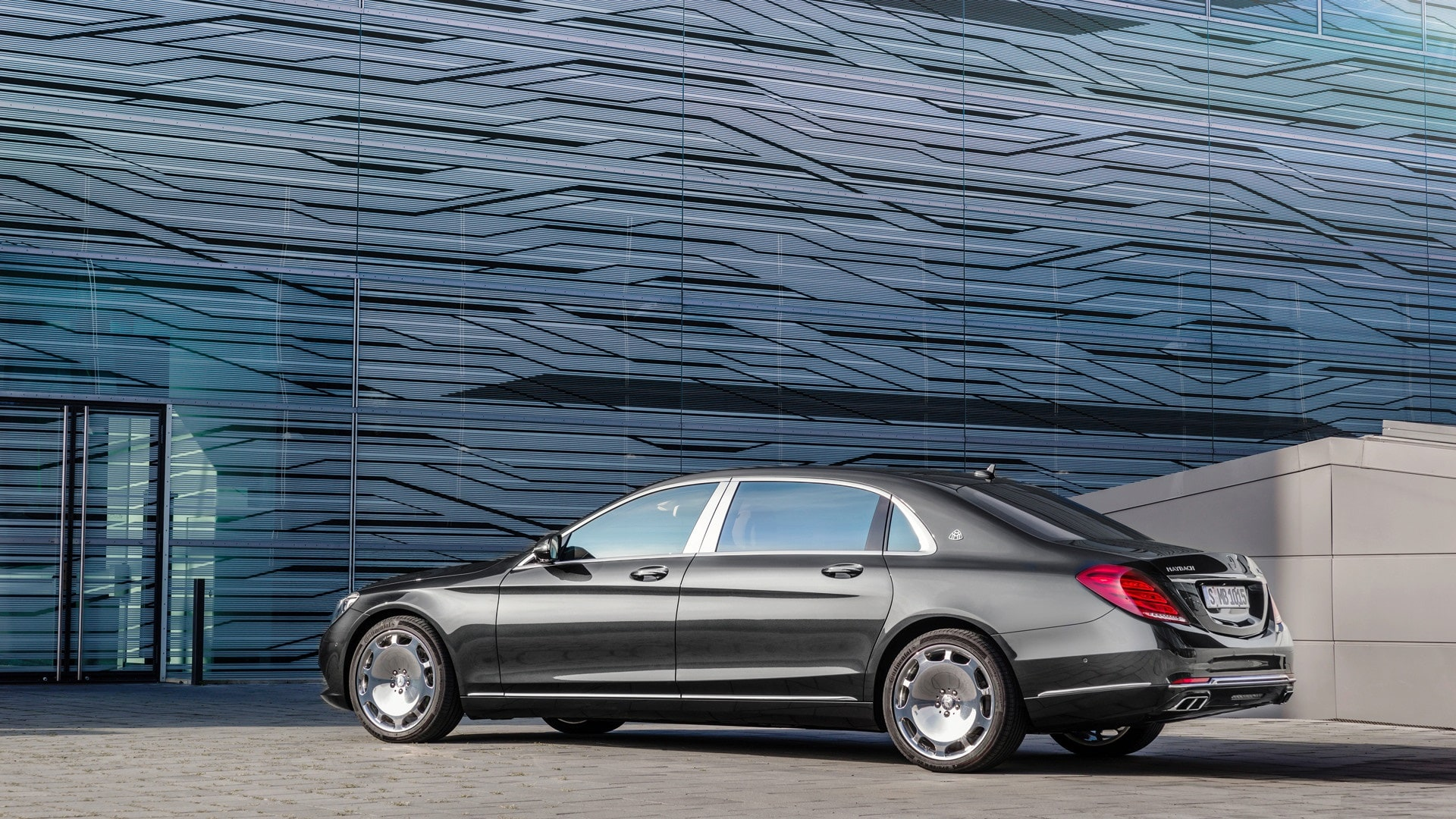 Mercedes-Maybach S-Class Widescreen