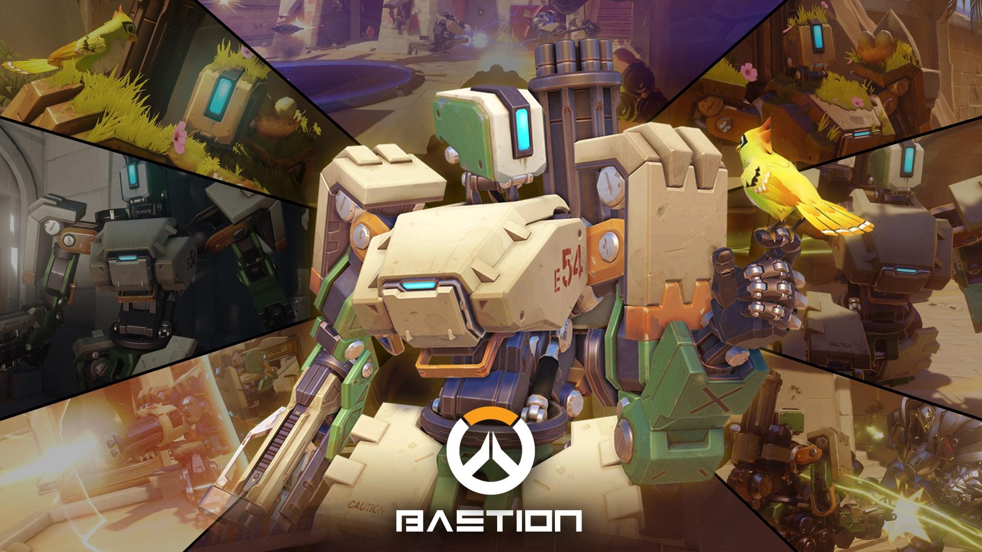Overwatch : Bastion Widescreen