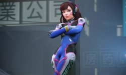 Overwatch : D.Va Widescreen