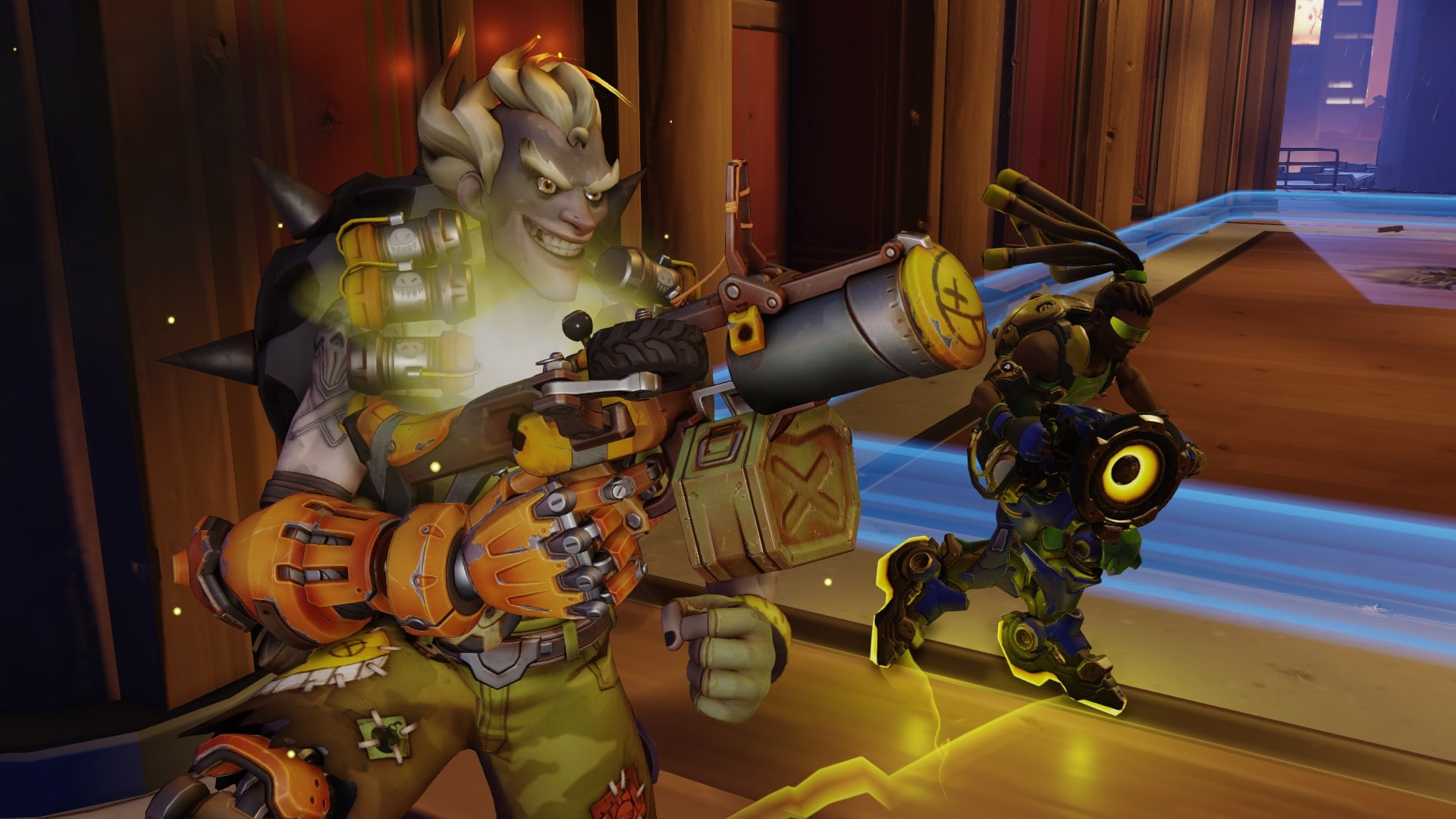 Overwatch : Junkrat Widescreen