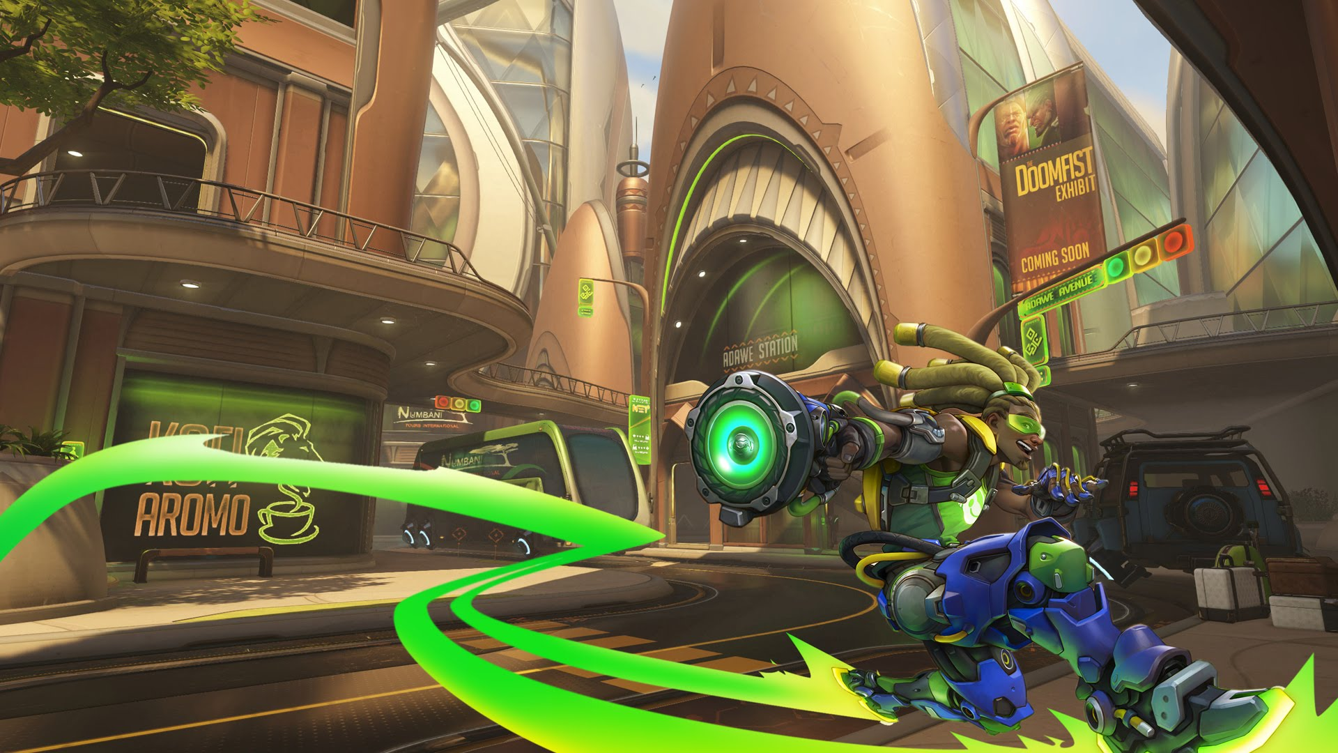 Overwatch : Lúcio Wallpapers hd
