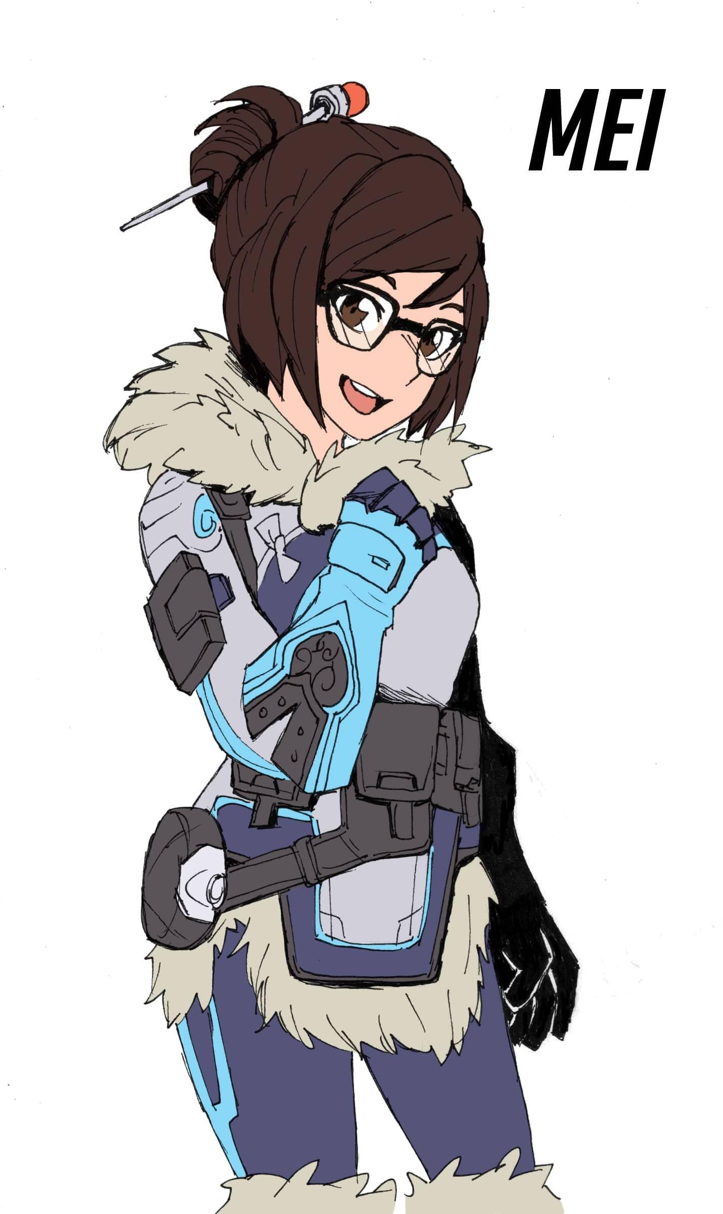 Overwatch : Mei Free