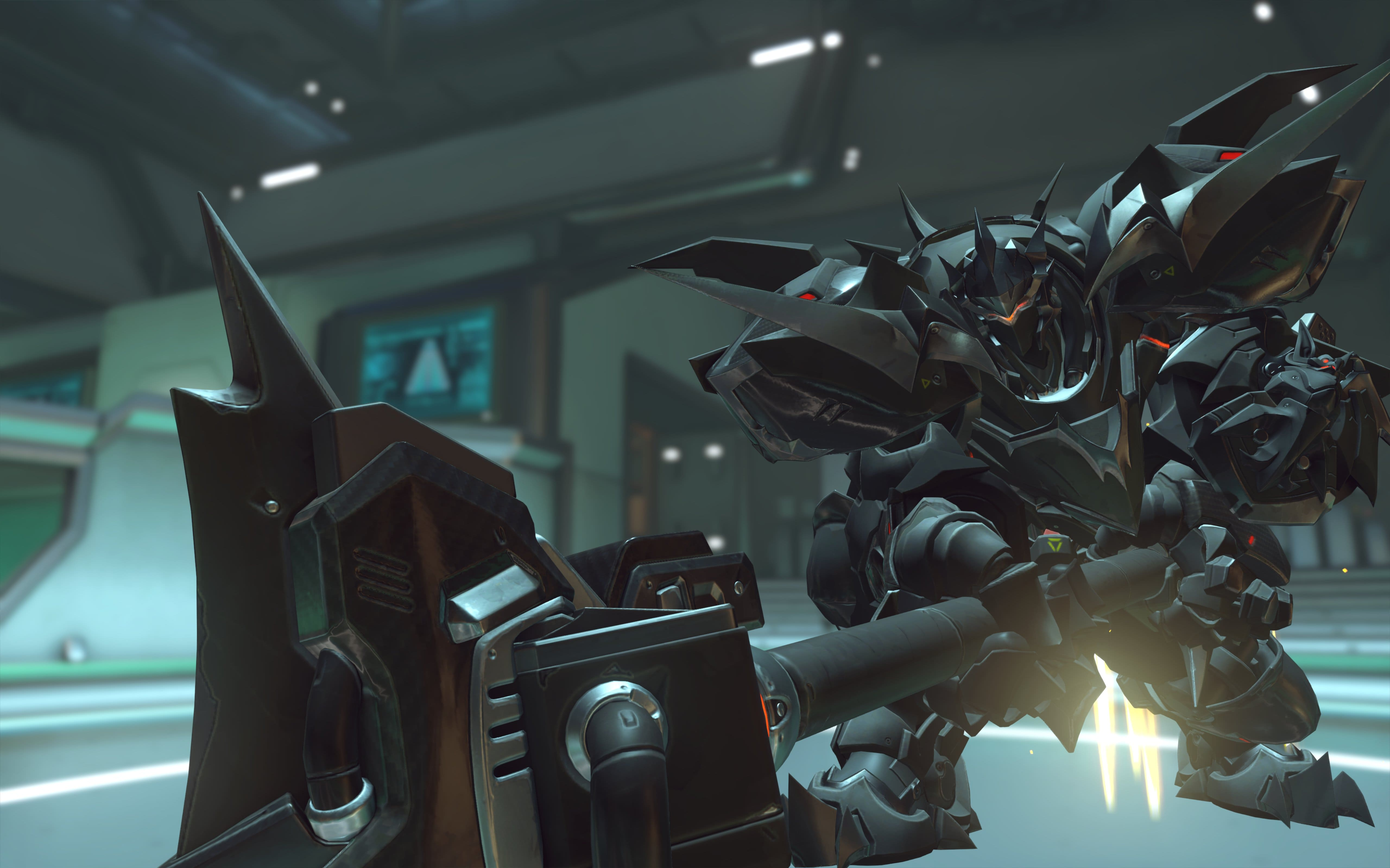 Overwatch : Reinhardt Widescreen