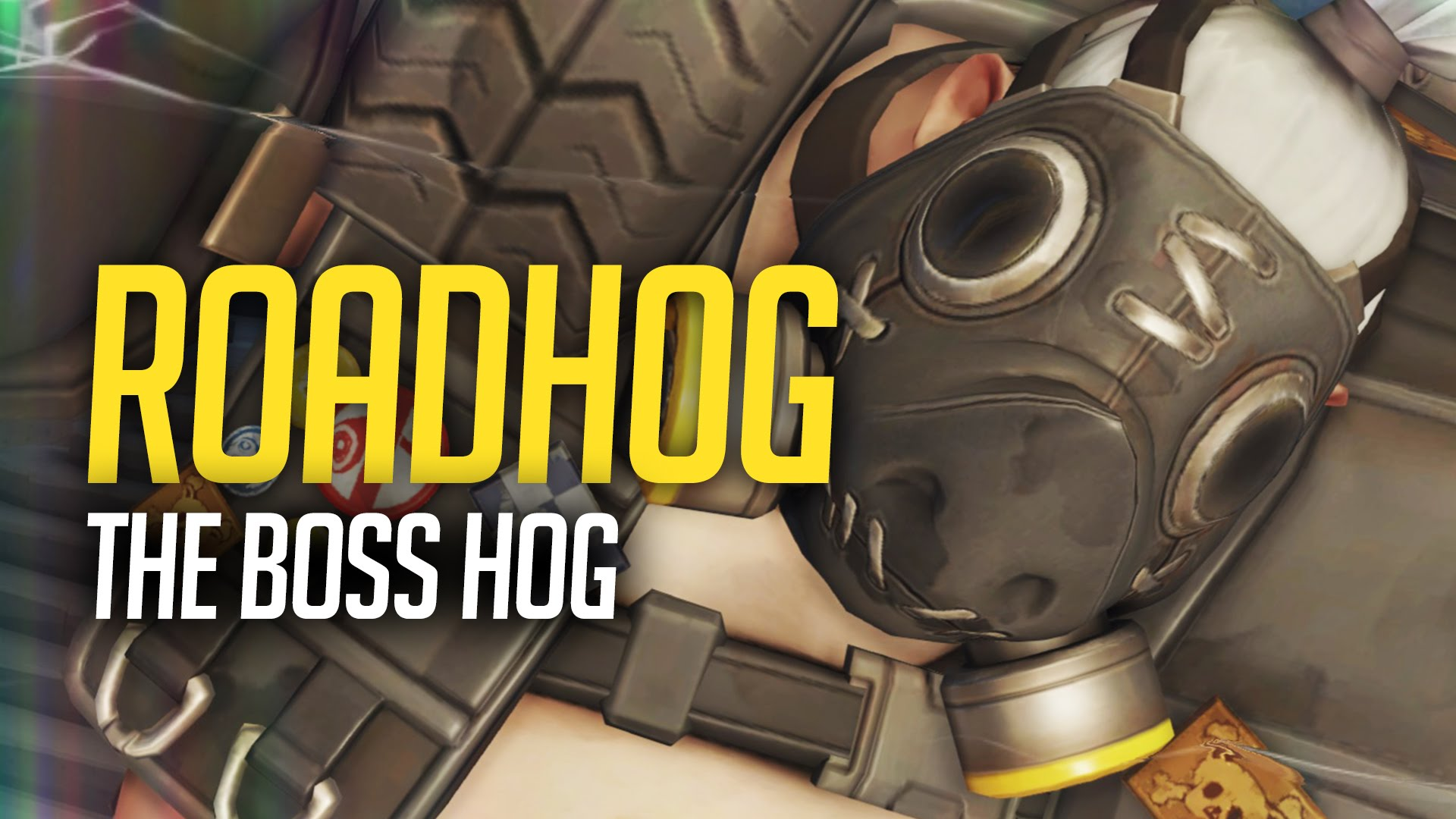 Overwatch : Roadhog Widescreen