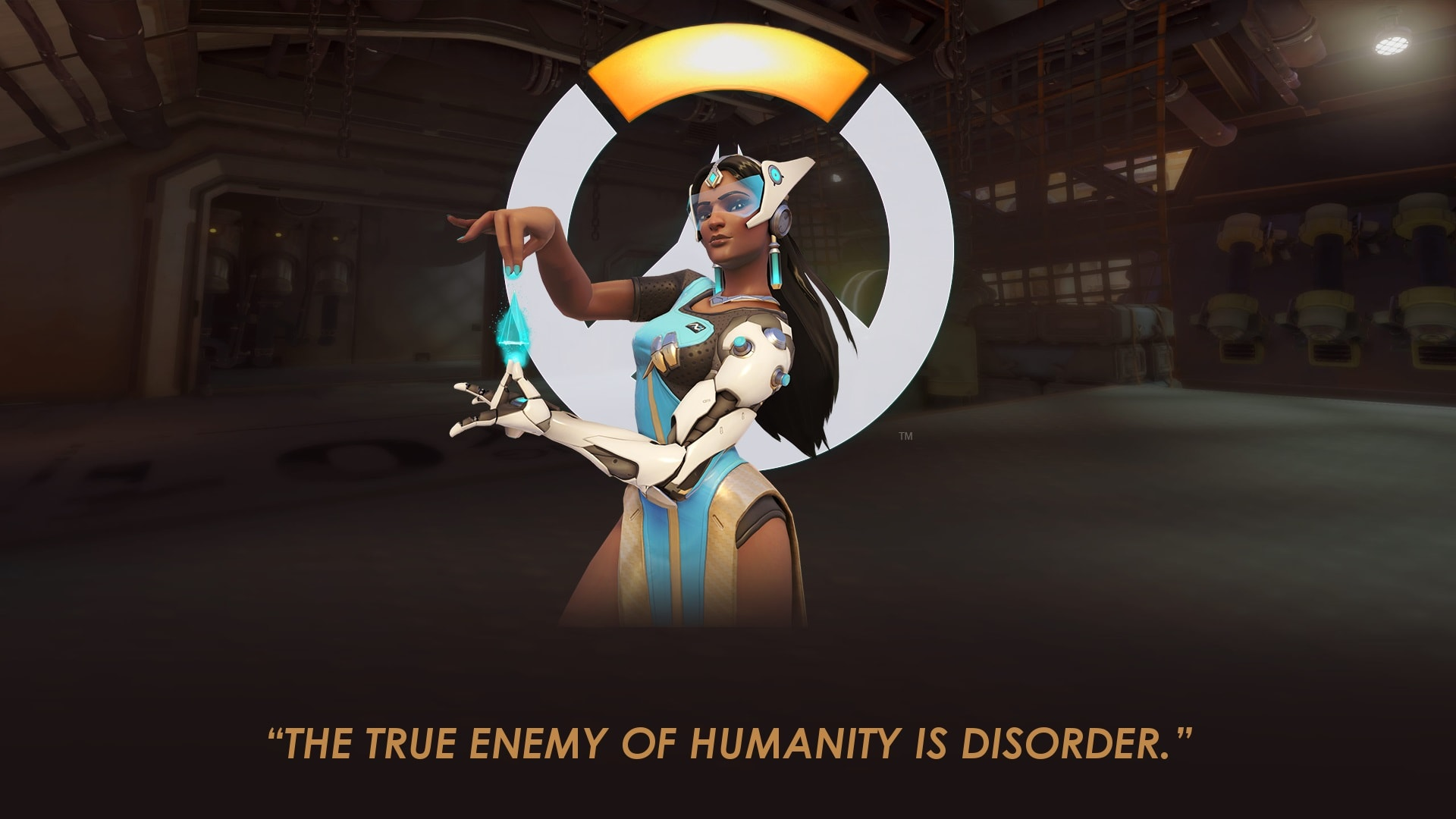 Overwatch : Symmetra Widescreen