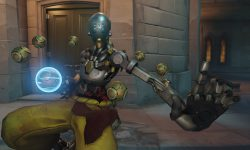 Overwatch : Zenyatta Widescreen