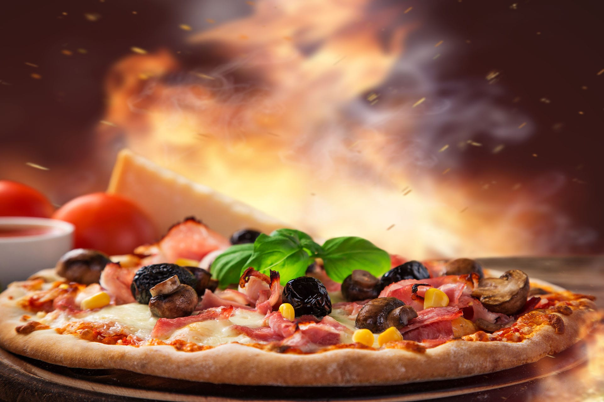 Pizza Widescreen