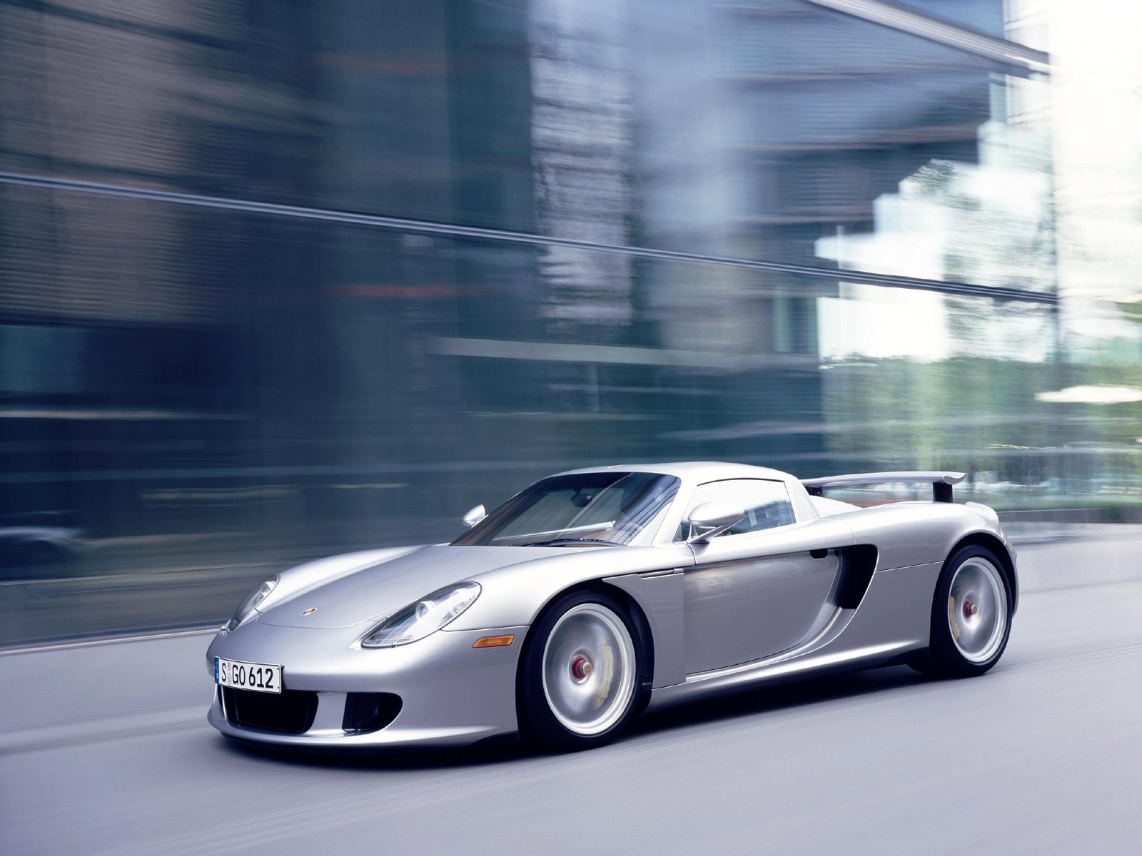 Porsche Carrera GT Widescreen