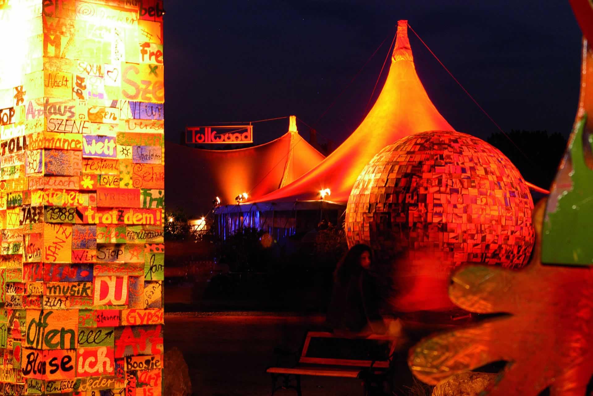 Tollwood Winterfestival Widescreen