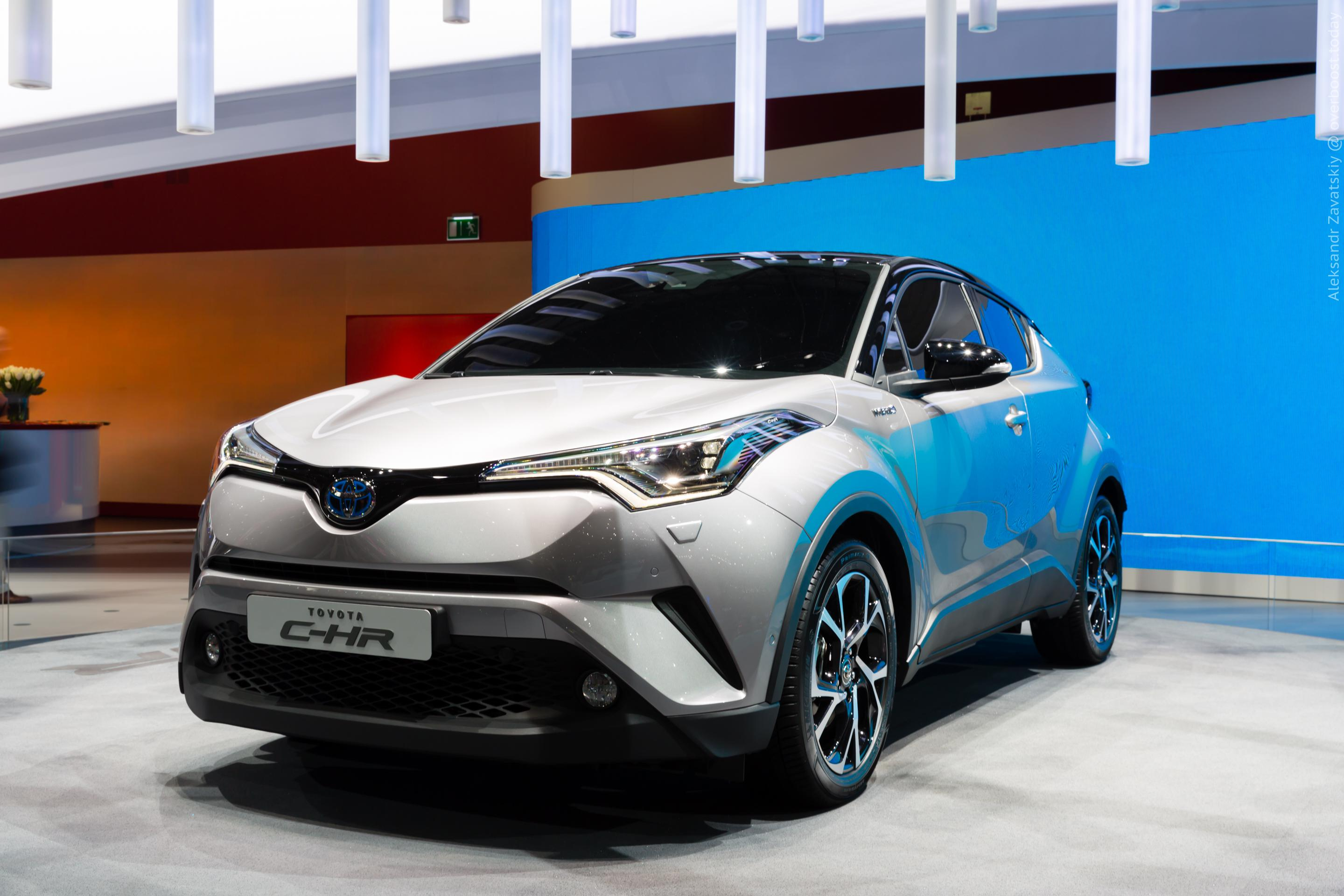 Toyota C-HR Widescreen