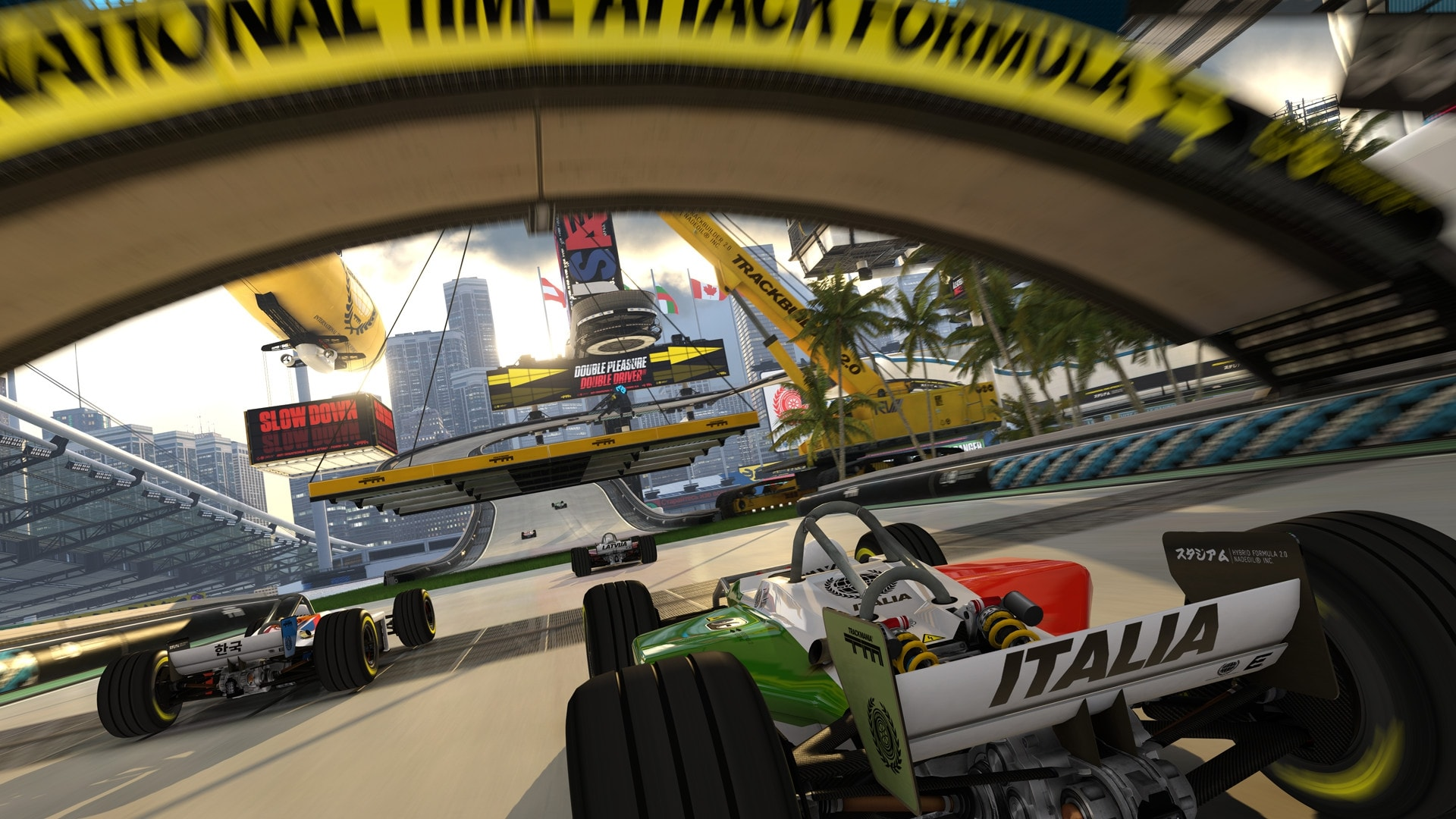 Trackmania Turbo Widescreen