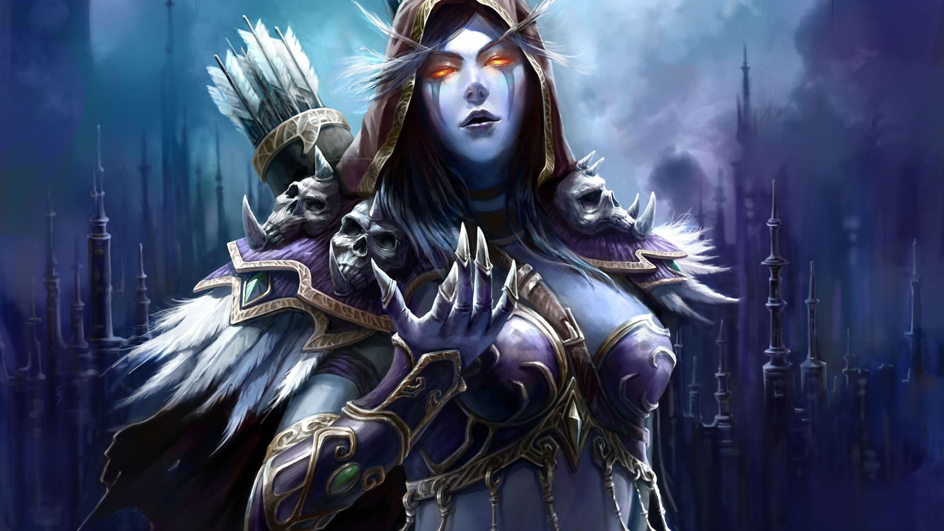WOW: Sylvanas Windrunner widescreen