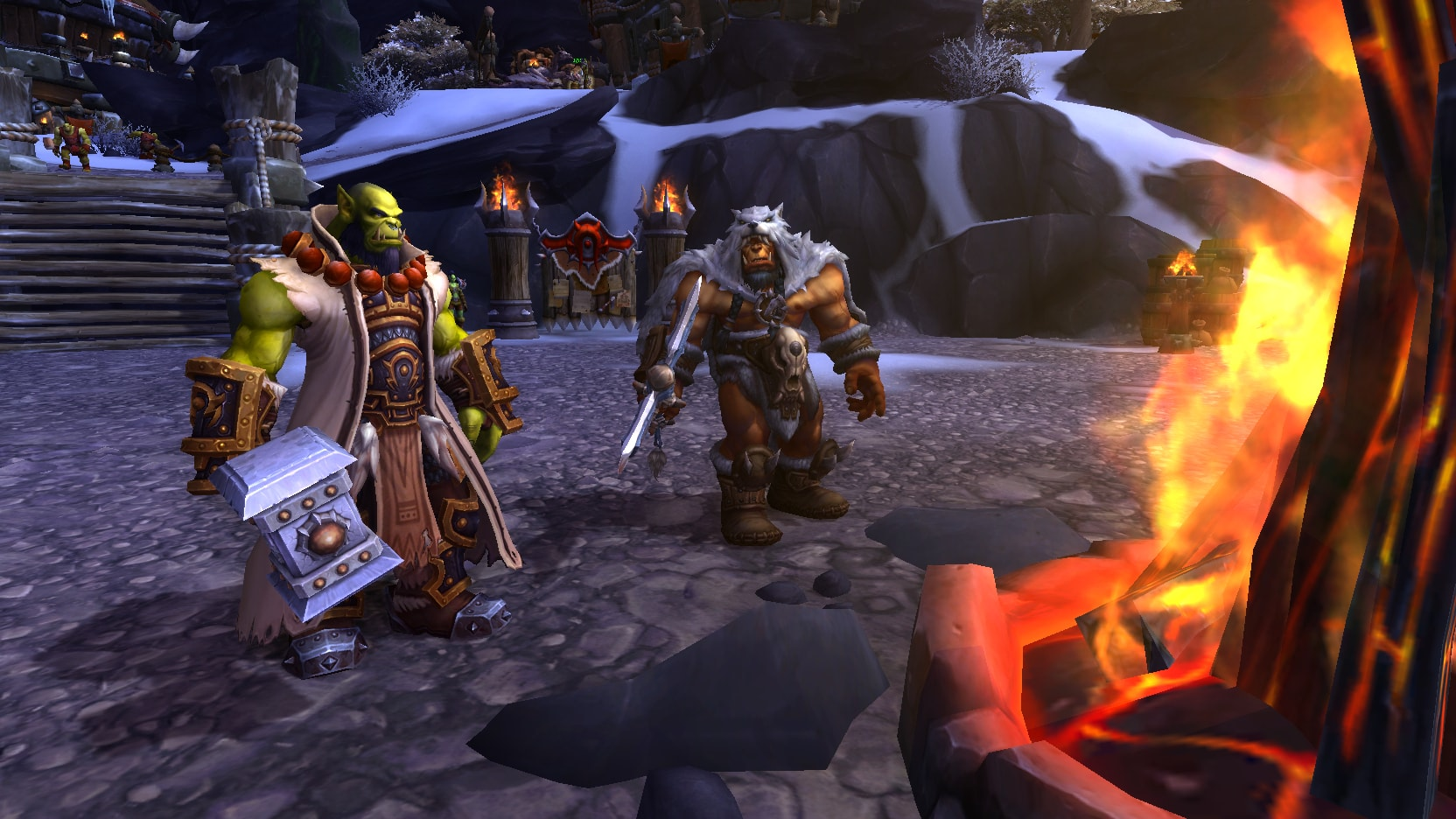 WOW: Thrall widescreen