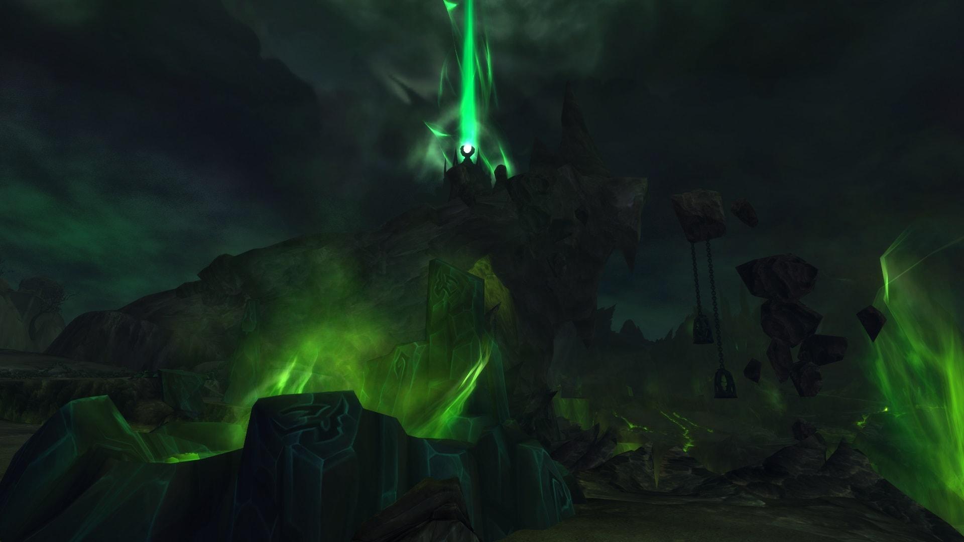 World of Warcraft: Legion Widescreen