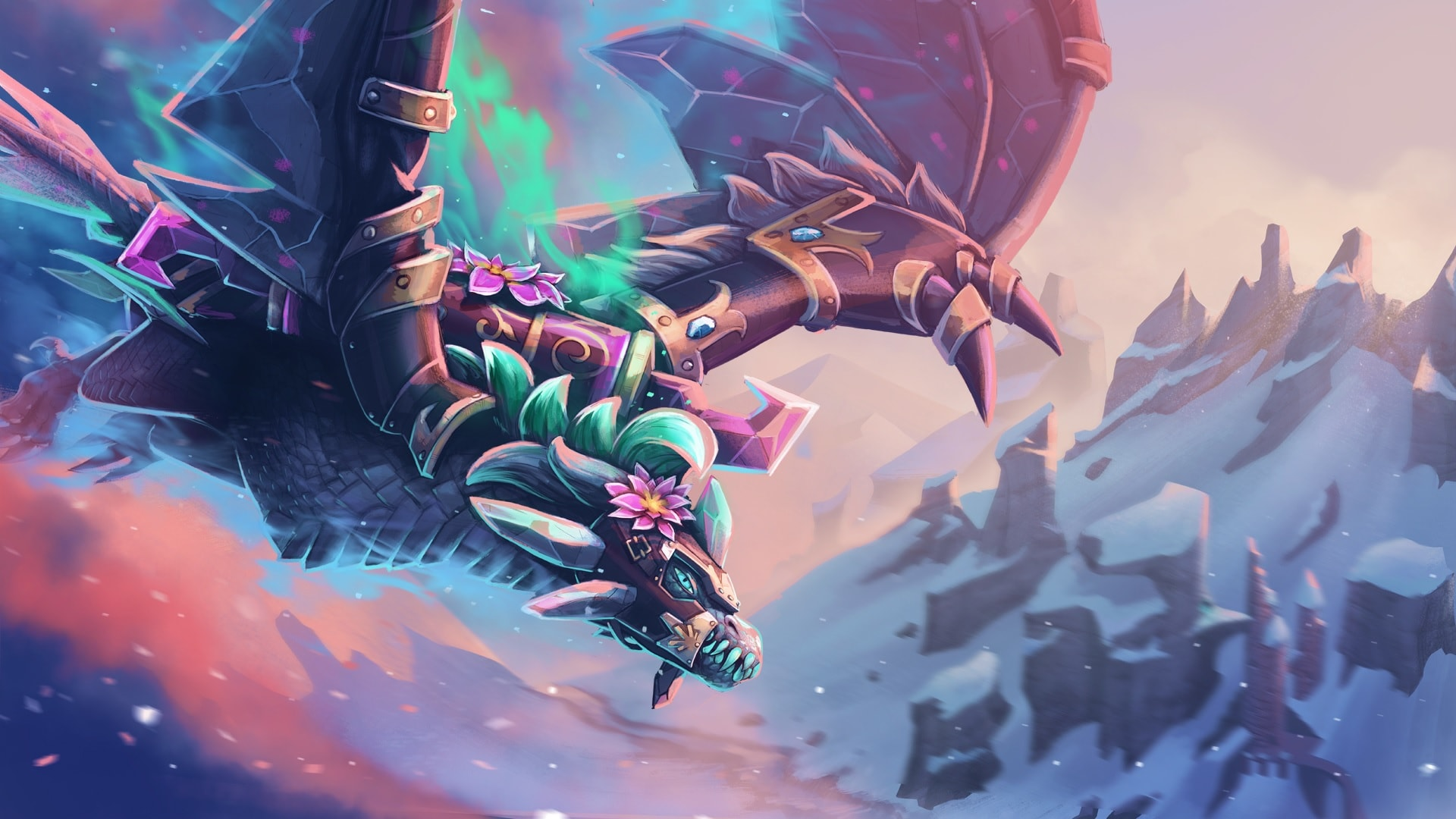 Dota 2 : Winter Wyvern Download
