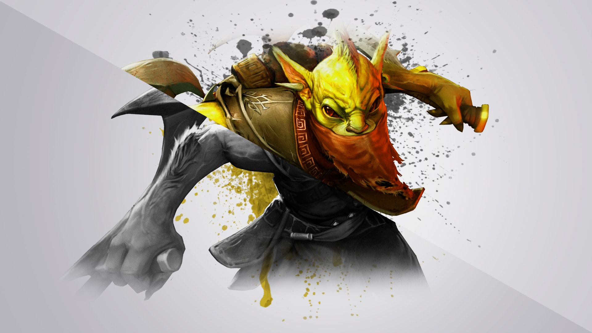 Dota2 : Bounty Hunter widescreen