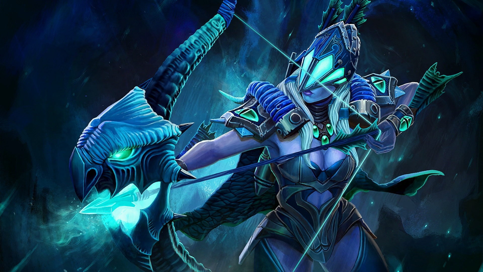 Dota2 Drow Ranger Hd Wallpapers 7wallpapers Net
