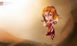 Dota2 : Lina desktop wallpaper