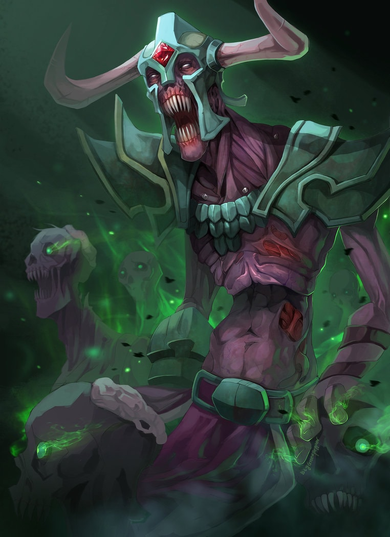 Dota2 : Undying Android wallpapers