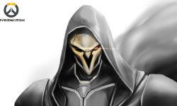 Overwatch : Reaper Widescreen